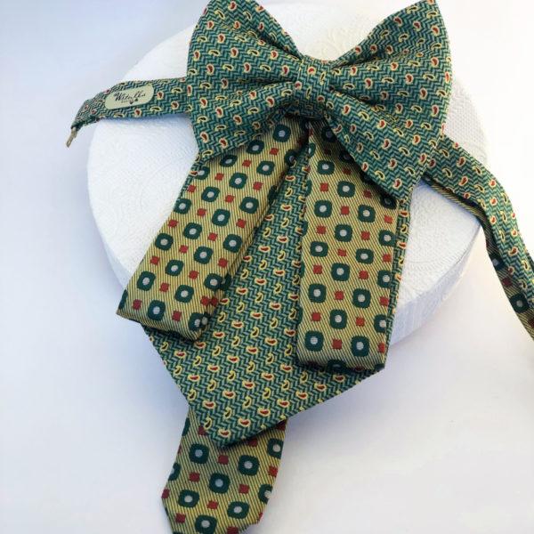 Autorský atypický kravato – motýlik