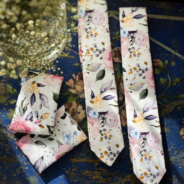 Kravata Romance ||. s vreckovkou